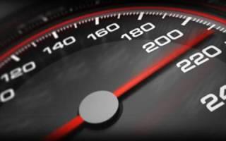 Разрешенная скорость в населенном пункте 2018