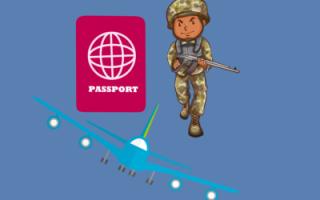 Ограничения в выезде за границу членов семьи военнослужащих