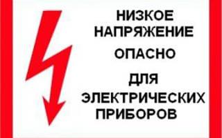 Как написать жалобу на плохое электричество образец претензии