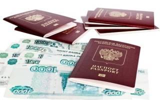 Реквизиты для загранпаспорта нового образца московская область