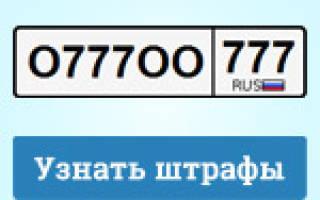 Гибдд мвд россии проверка наличия неоплаченных штрафов