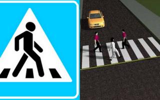 Можно ли парковаться за пешеходным переходом и сколько метров