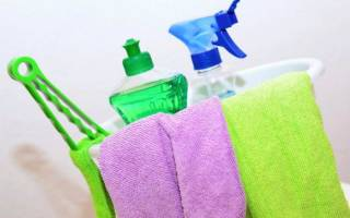 Нормы моющих средств для уборки служебных помещений