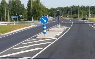 Нет разметки на дороге правила пдд