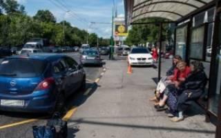 Можно ли таксистам стоять на остановках