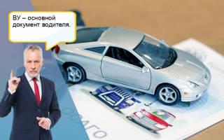 Как узнать серию и номер обмененого водительского удостоверения