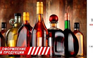 Стоимость лицензия на импорт алкоголя в россию