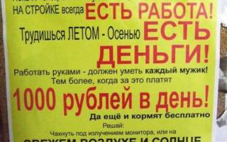 Правильное написание объявления о работе в интернет магазин