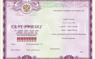 Заявление о признании носителем русского языка 2018